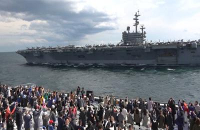 [영상] '12개국의 전함이 서귀포에'...제주 해군 국제관함식 현장