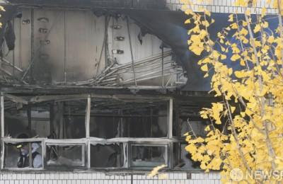 [사진] 종로 고시원 화재... 사망자 6명,  희생자 더 늘수도