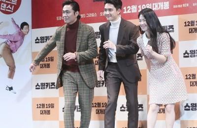 [사진] 오정세-도경수-박혜수, 영화 '스윙키즈' 기대하세요!