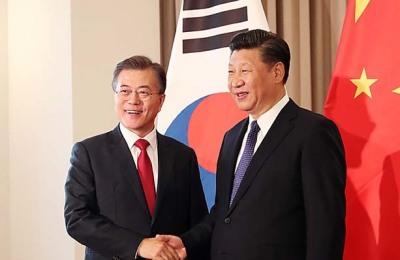 문대통령, 오늘 저녁 시진핑과 회담…방북 결과 청취·비핵화 논의