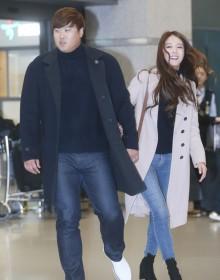 """[사진] 류현진-배지현, """"잘 다녀왔습니다~"""""""