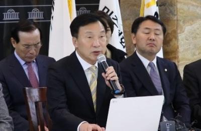 [영상] '단식 중 취임 100일 맞이할 줄이야'... 바른미래당 손학규 대표 기자회견