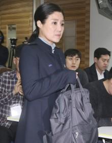 [사진] '구조동물 안락사 논란' 기자회견 참석하는 박소연 대표
