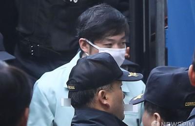 [사진] 법정 항하는 조재범 전 코치