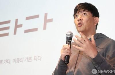 """[영상] 타다 '프리미엄 출시' 이재웅 대표 """"택시업계에 당하고만 있지 않겠다"""""""