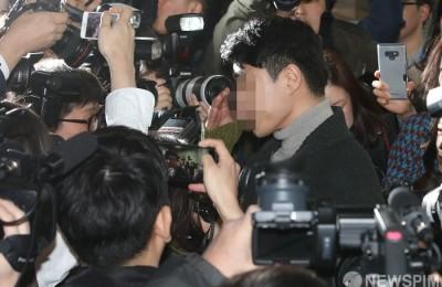 [사진] 이문호 버닝썬 대표 '영장실질심사 출석'