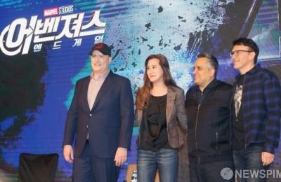 [사진] 어벤져스:엔드게임 내한 기자회견