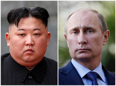"""金-푸틴, 25일 블라디보스토크 정상획담..""""성명 발표 없이 북핵 집중 논의"""""""