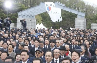 [사진] 4‧19혁명 기념식... '59년전 그날을 기억하며'