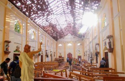[영상] 스리랑카 테러용의자 13명 체포…사망자 228명