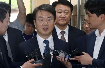 [사진] 법정 출석하는 강신명-이철성 전 경찰청장