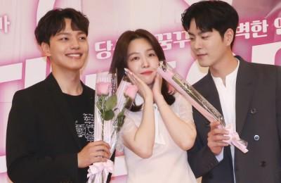 [사진] 여진구-방민아-홍종현, 삼각관계 예고?