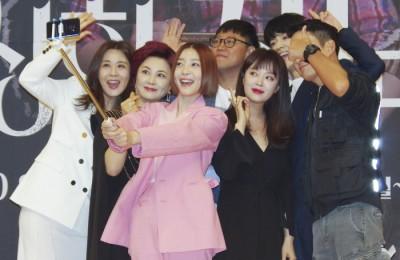 [사진] '드라마 수상한 장모 제작진들의 셀카타임'