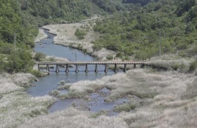 [사진] 백마고지 조망대에서 바라본 역곡천