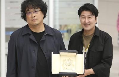 금의환향한 봉준호·송강호