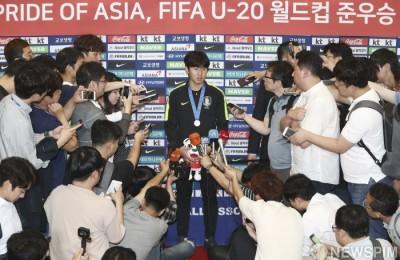 문대통령, 오는 19일  U20 축구대표팀 청와대 초청 만찬