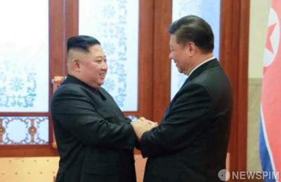 """[시진핑 방북] 시진핑 """"한반도 비핵화 정치적 해결 프로세스 지지"""""""