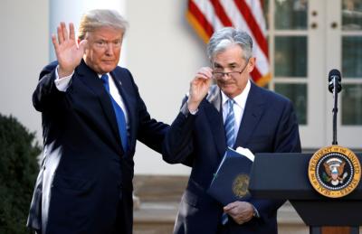 """美 정부 관계자 """"트럼프, 연준 때문에 달러 너무 세다고 생각해"""""""