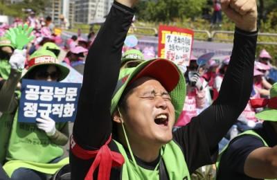 교육당국-학비연대 본교섭 결렬...'2차 총파업' 선언