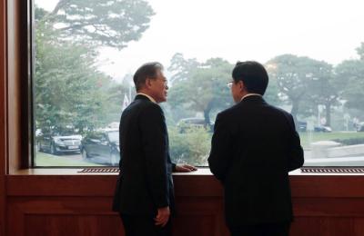 [팩트 체크] 문대통령, 황교안 대표에 일대일 회동 제안? 靑