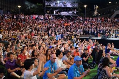 """광주세계수영선수권대회, 성대한 폐회식…""""광주를 세계로"""""""