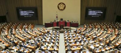 여야 3당, 내달 31일 안건처리 본회의 열기로... '조국 국정조사' 합의는 불발