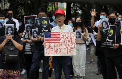 홍콩 '의문사' 의혹 15세 소녀母