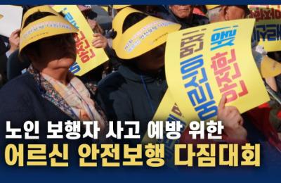 [영상] '어르신이 안전한 서울'…제2회 어르신 안전보행 다짐대회