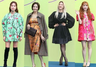 '2020 S/S 서울패션위크 찾은 그녀들의 패션