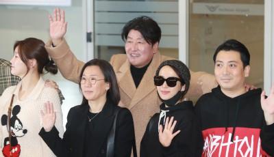 '기생충' 송강호-조여정-박명훈, '아카데미 시상식 다녀왔어요!'