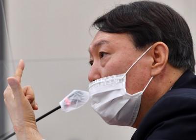 의원 질의에 답하는 윤석열 검찰총장