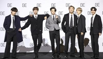 'BE'로 돌아온 방탄소년단