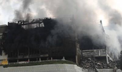 쿠팡 물류센터 '큰 불은 잡혔지만...'