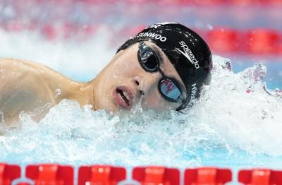 황선우, 자유형 100m 47초56… 아시아신기록