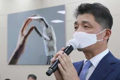 세번째 국정감사 출석한 김범수 카카오 의장
