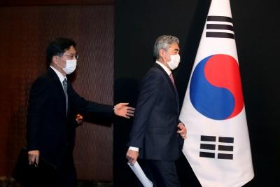 노규덕 - 성김, 한미 북핵 수석대표 협의